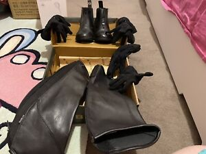 Horse riding boots, Short chaps,gloves
