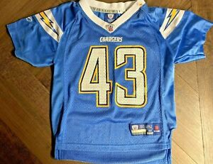 Reebok Onfield NFL Jersey SD Chargers Darren Sproles 43 Youth Kids 5/6 Medium