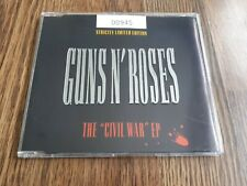 GUNS N' ROSES - THE CIVIL WAR EP CD LTD ED NUMBERED EMBOSSED CASE 1993 NEAR MINT