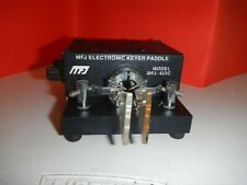 MFJ-422C Pacesetter Bencher Paddle Electronic Keyer Ham Radio CW MFJ422C