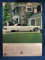 Vintage Magazine Ad Print Design Advertising Cadillac Eldorado