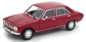 PEUGEOT 504 1975 bordeau,WEL24001WD, échelle1/24,WELLY