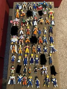 Dragonball Z action figures.