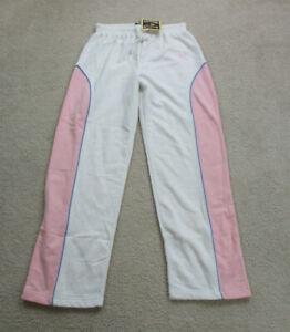 NEW New York Yankees Pants Womens Small White Pink MLB Baseball Ladies *