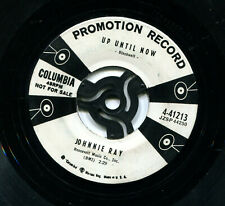 """JOHNNIE RAY    US PROMO   """"NO REGRETS / UP UNTIL NOW""""  7"""" SINGLE"""