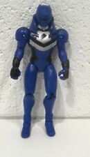 "Morphin Power Rangers Jungle Fury Strike Action Figure 2007 5-3/4"" Blue Movable"