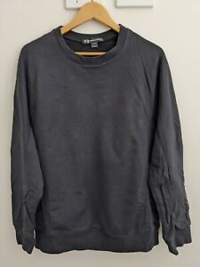 Y-3 x Adidas Classic Long Sleeve Sweatshirt [Black] [Large]