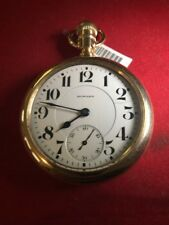 Howard Pocket Watch , 16 Size, Series O , 23 Jewels, G. F. Case, Runs Excel.
