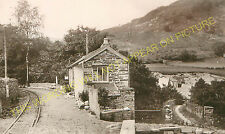 Esgairgeiliog Railway Station Photo. Machynlleth - Corris. Corris Railway. (3)