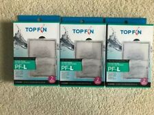 Three boxes of 6 (18 filters) Top Fin Large SilenStream  AUTHENTIC!  Free ship