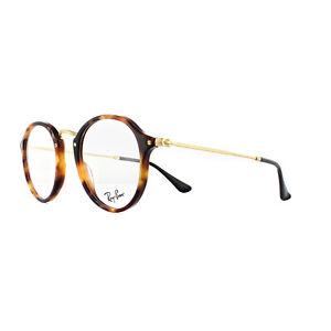 Ray-Ban Glasses Frames 2447V 5494 Havana Gold 49mm