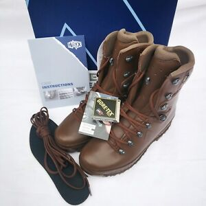NEW BRITISH ARMY - HAIX Cold Wet Weather Female High Liability Brown Boots 8W