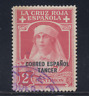 Tanger (1926) Usato Spain - Edifil 24 (2 Cts ) Croce Rossa