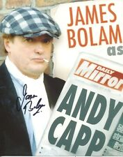 ANDY CAPP 8x10 photo signed by actor James Bolam