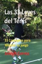 Las 33 Leyes Del Tenis by Joseph Correa (2016, Paperback)