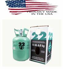R22 R-22 R 22 Refrigerant 15lb Cylinder Hvac/R Refrigeration