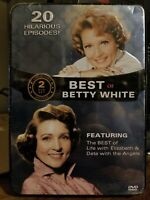 Best of Betty White DVD Collector's Tin NEW Sealed