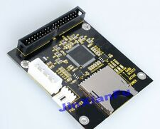 """SD/ SDHC/ MMC To 3.5"""" 40Pin Male IDE Adapter Card Big PCB SD-3.5 IDE"""