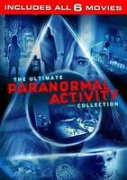 Paranormal Activity: 6-Movie Collection (DVD, 2016, 6-Disc Set)