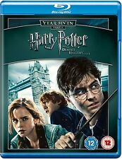 HARRY POTTER AND THE DEATHLY HALLOWS PART 1  Blu-Ray 7th Film Movie 7 New Sealed