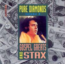 RARE CD IMPORT ELVIS PRESLEY- PURE DIAMONDS -GOSPEL GREATS & STAX -FLASHBACK