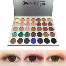 BEAUTY GLAZED 35 Colors Matte Shimmer Eyeshadow Palette Glitter Luminous Makeup