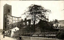Littleborough. Uber Mill Ruins by A.Lord, Rochdale.