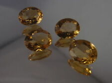Loupe Clean Oval Loose Citrines