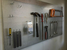 ALUMINIUM PERFORATED PEG BOARD METAL PEGBOARD PANEL