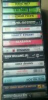 Vintage country music cassette tapes lot of 15 tapes .highwayman .chet Atkins