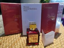 Maison Francis Kurkdjian Paris Baccarat Rouge 540 Extrait De Parfum. NEW IN BOX