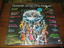 Thank God Its Friday SEALED DISCO 2 LP SET Diana Ross