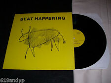 Beat Happening, Crashing Through, 53rd & 3rd, UK 12""