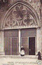 CPA Guingamp Portail en fer forgé de Notre-Dame p84285