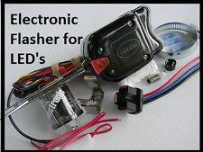 Turn signal kit LED lights electronic flasher  hot rod golf cart atv utv 12 v