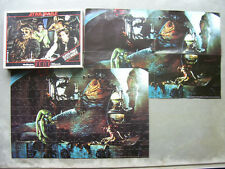 Star Wars The Return of thr Jedi 150 Piece Jigsaw by 1983 Includes Poster