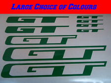 GT Bike Frame Vinyl Sticker Decals X9 Road or MTB CHOICE OF COLOURS