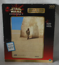 1999 Star Wars Episode 1 300 piece jigsaw puzzle Movie Poster  New Old Stock