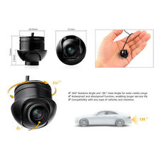 CCD Auto Mini Rückfahrkamera 170°Nachtsicht Rückfahr Kamera Wasserdicht Camera