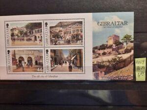 GIBRALTAR UNUSED STAMPS -MNH - BLOCK NR. 89