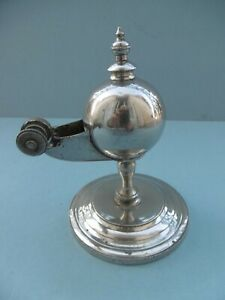 RARE VEILLEUSE - PHARE DECOUDUN 1890 Laiton Lampe huile - Pigeon Essence Pétrole