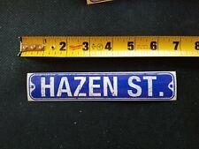 Hazen Street Sticker H20 DC flag 2004 warped tour