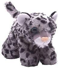 "Hug'Ems 7"" Mini Snow Leopard Stuffed Animal by Wild Republic 3+ Boys & Girls"