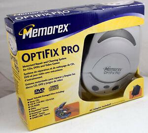 Memorex OptiFix Opti Fix pro CD DVD Video Game Cleaner & Repair Kit