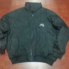 Vintage Fubu 05 Men's Down Rubber Puffer Jacket Sz 2XL 90s Coat