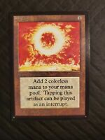 Magic the Gathering MTG Sol Ring Collector's Edition Beta - Domestic NM