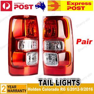 For Holden Colorado Ute RG 2012-2016 Pair LH+RH Tail Light Lamp New ( Non-LED)