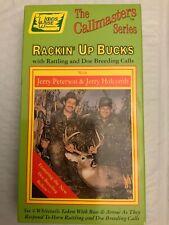 The Callmasters Series Rackin' Up Bucks Deer Hunting Video VHS Free Shipping
