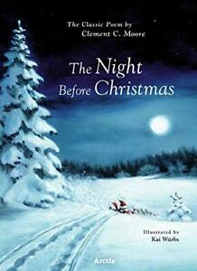 The Night Before Christmas by Clement C. Moore (Hardback, 2020)