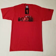 Autographed Nigel Mansell Formula 1 T-Shirt by Jerzees, Large, cotton, USA. #A6